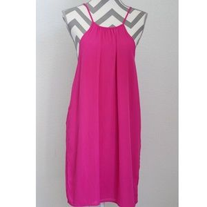 WAYF brand pink dress